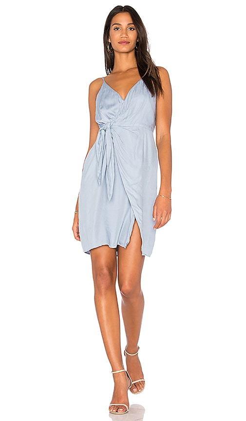 STYLESTALKER Imogen Dress in Baby Blue