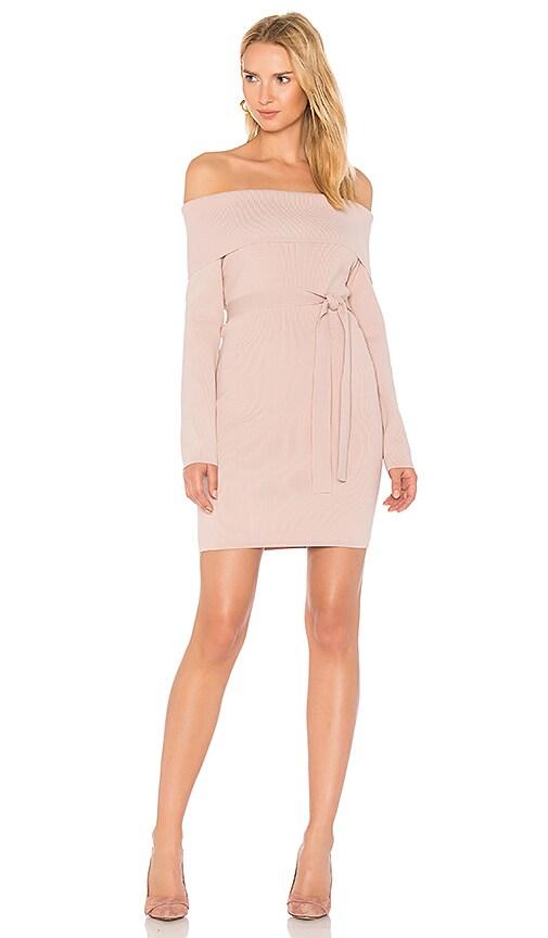 STYLESTALKER Vana Knit Dress in Blush