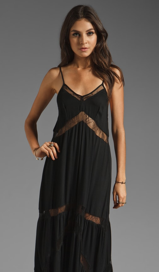 All the Way Lace Maxi Dress