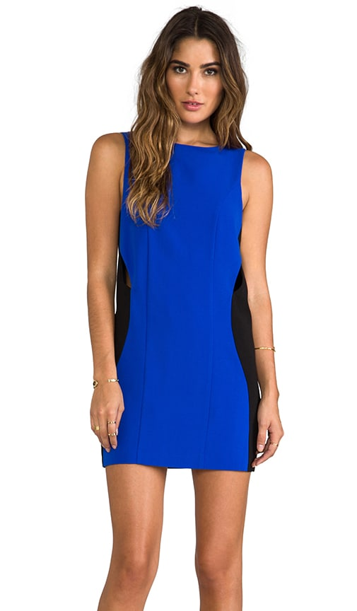STYLESTALKER Where the Party At Dress in Blue