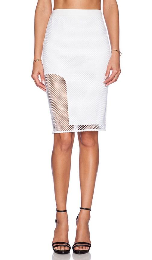 STYLESTALKER Getaway Pencil Skirt in White