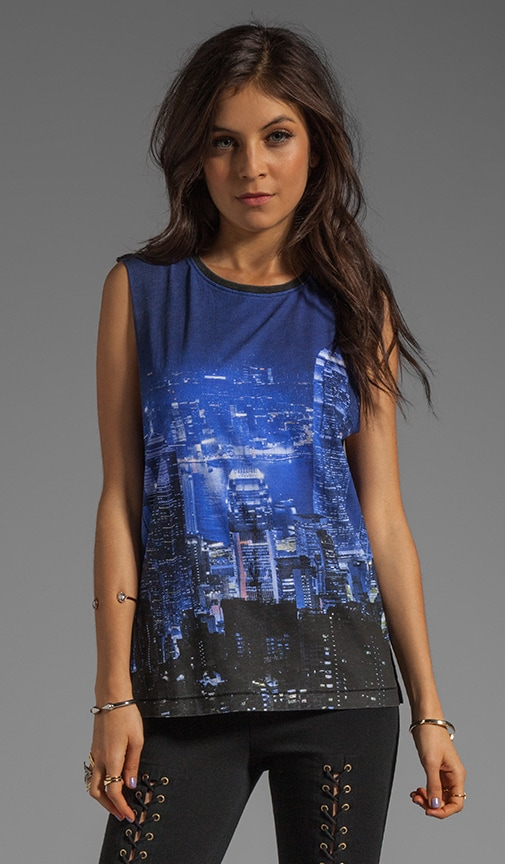 City Scape Muscle Tank