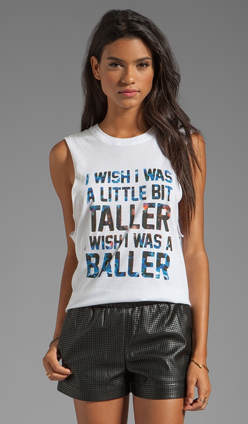 I Wish I Was A Little Bit Taller Cut-Off Tank