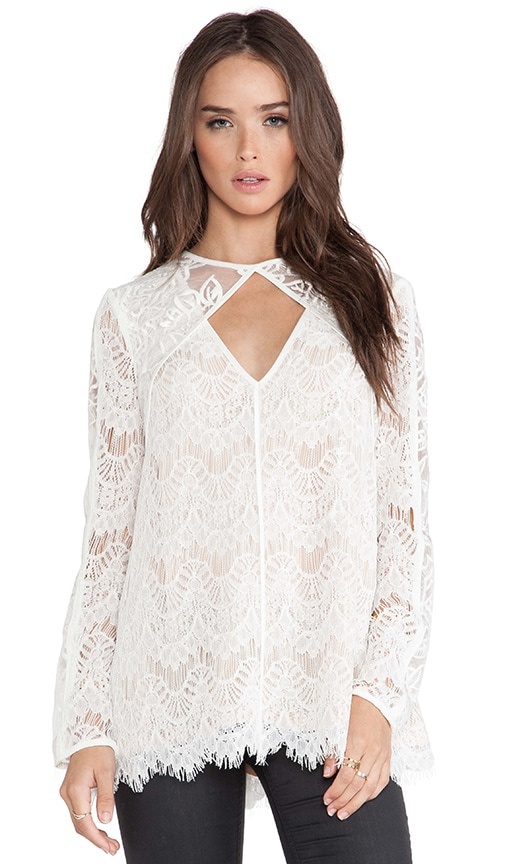 Devoted To You Blouse