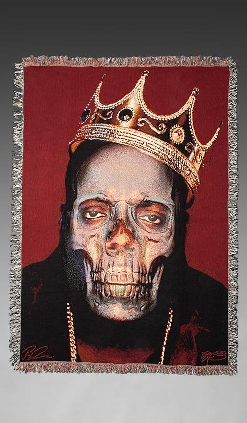 Biggie Skull Blanket