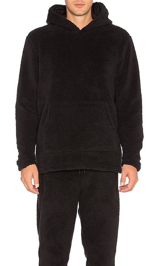 SSUR Sherpa Hoody in Black
