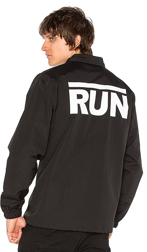 SSUR Run Coach Jacket in Black