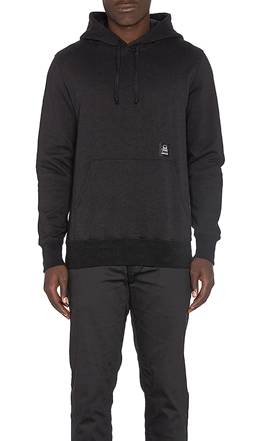 SSUR Pullover Hoody in Black