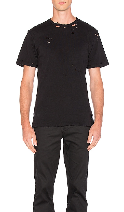 SSUR x Revolve Repurposed Vintage Tee in Black