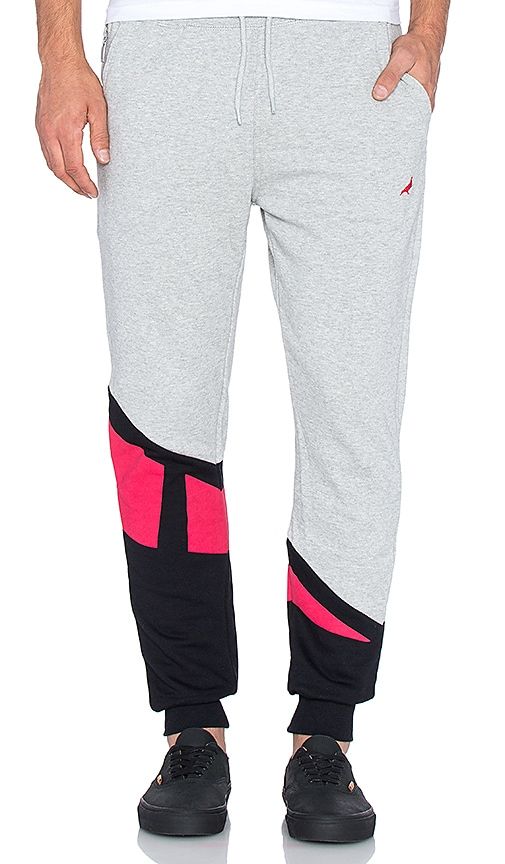 Staple Retro Sweatpants in Heather Grey