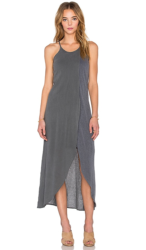 Bubble Gauze Layered Maxi Dress