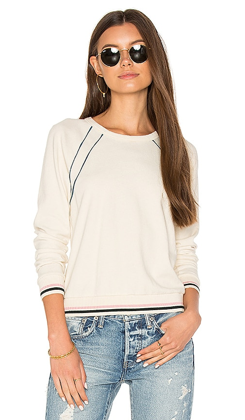 Stateside Heavy Jersey Sweatshirt in Ivory