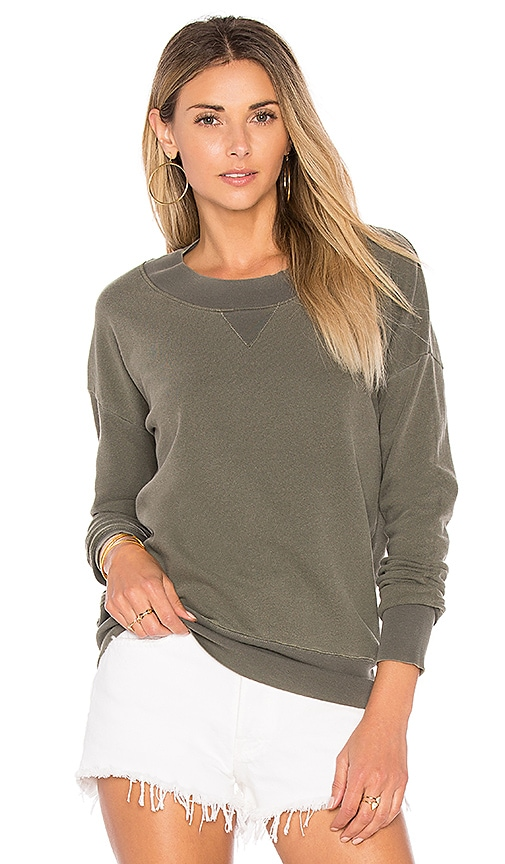 Stateside French Terry Sweatshirt in Green