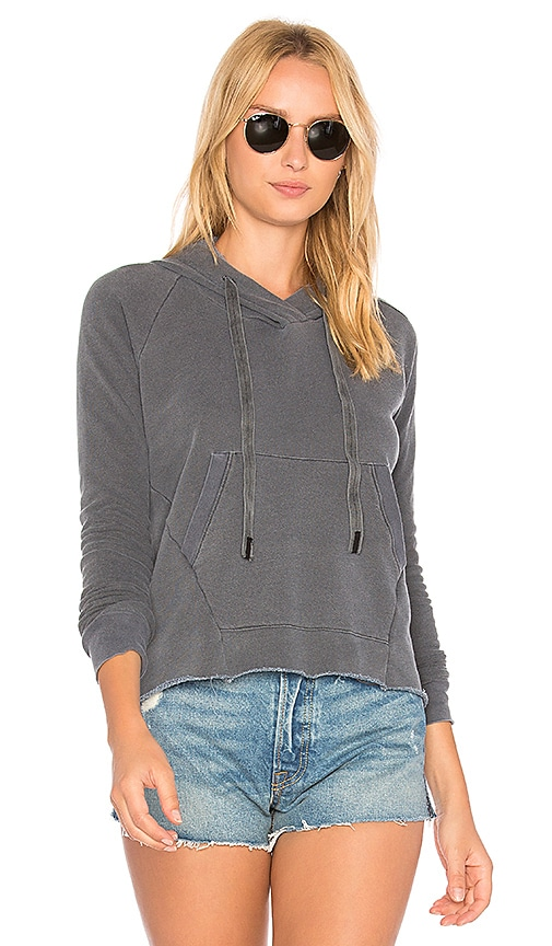 Stateside French Terry Hoodie in Gray