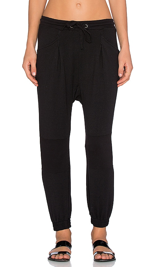 Stateside Jogger Pant in Black