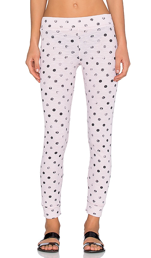 Polka Dot Thermal Legging