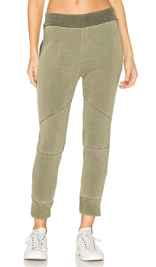 Stateside Fleece Joggers in Olive