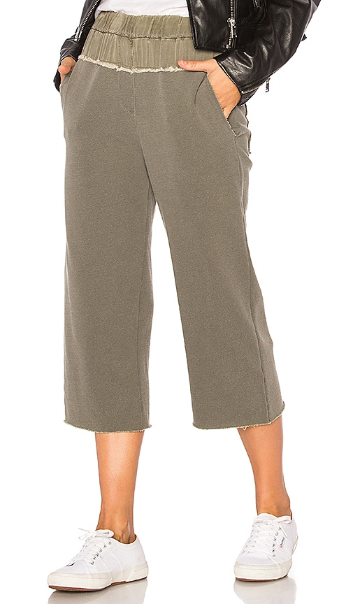 Stateside French Terry Pant in Olive