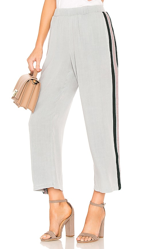 Stateside Washed Rayon Pant in Gray