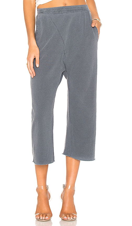 Stateside Drop Crotch Pant in Gray