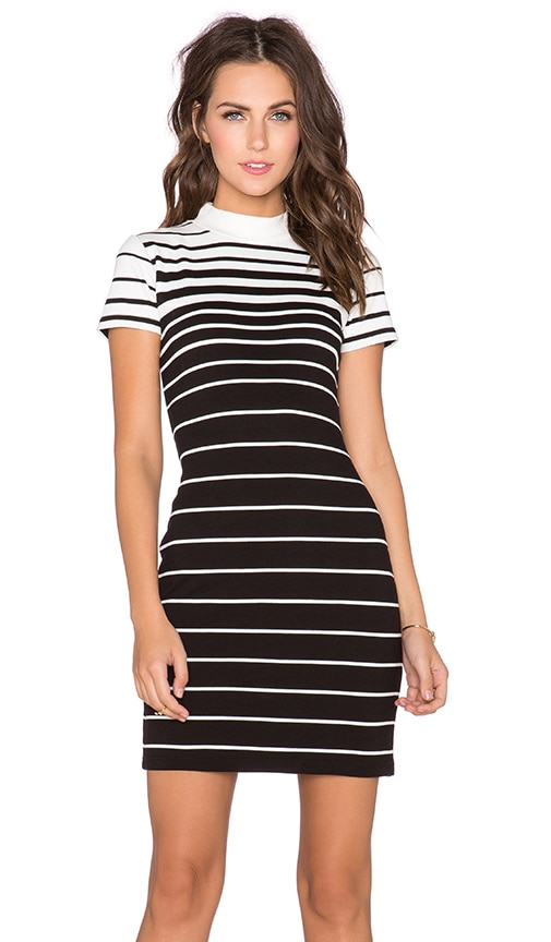 State of Being Faded Stripe Dress in Multi