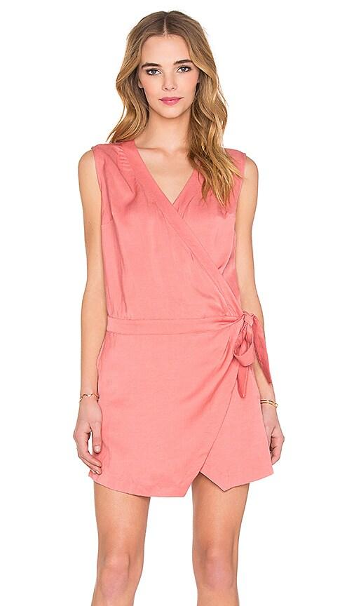 Folded Lapel Dress