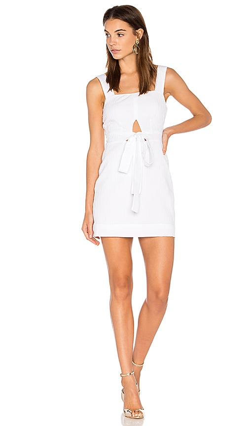 State of Being Destination Dress in White