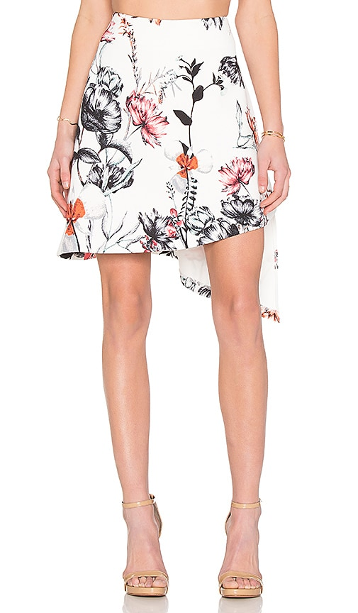 State of Being Hummingbird Skirt in White