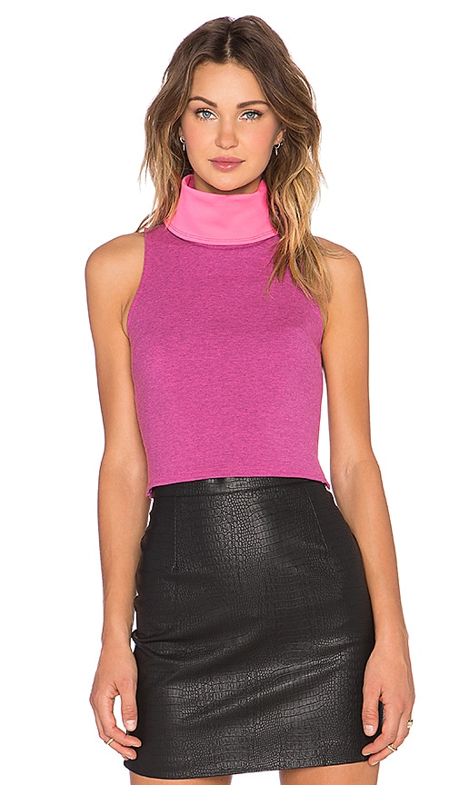 State of Being Martini Crop Top in Pink