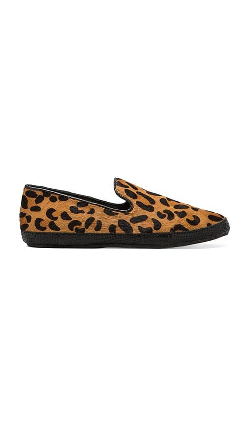 Clutch Loafer with Calf Hair