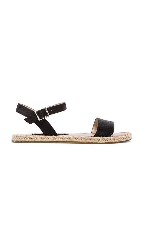 Liliie Sandal with Calf Fur