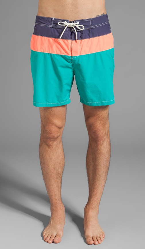 Colorblock Swim Short