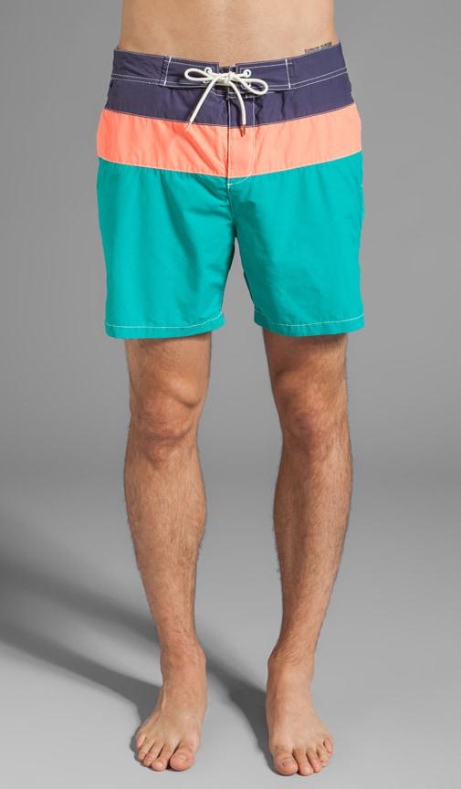 Colorblock Swim Short