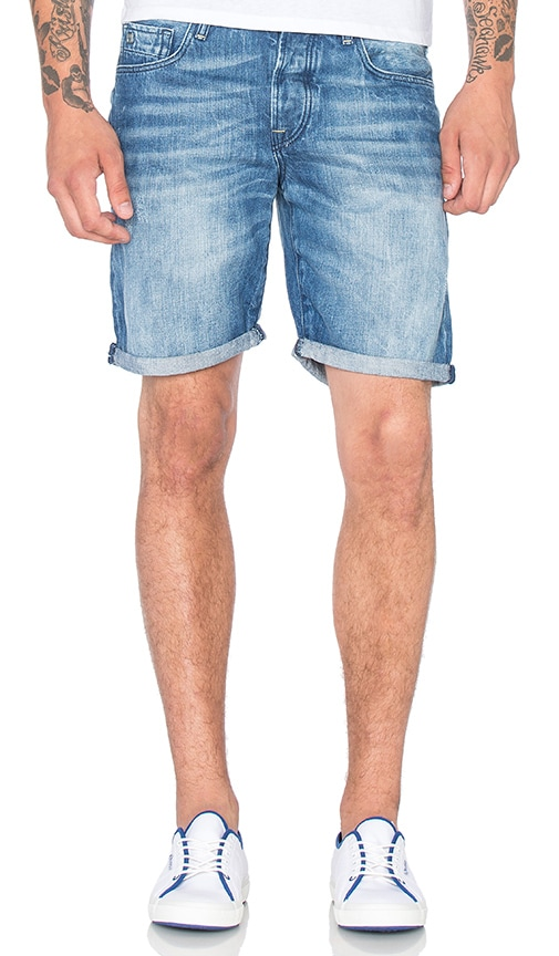 Scotch & Soda Raiston Short in Denim Blue