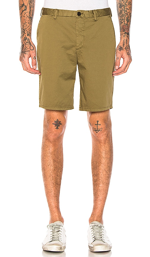 Scotch & Soda Twill Shorts in Brown