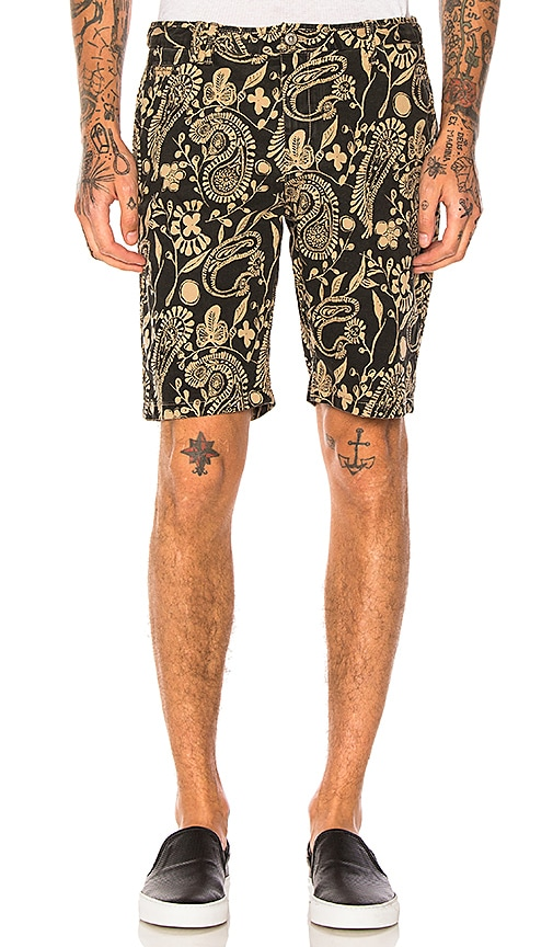 Scotch & Soda Classic Chino Shorts in Black