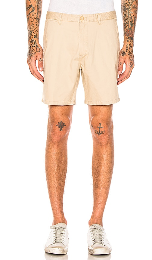 Scotch & Soda Classic Chino Shorts in Tan