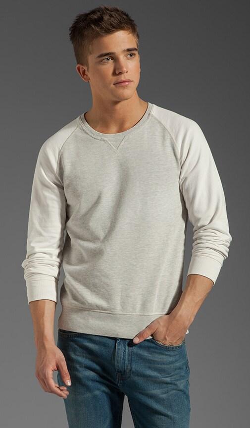 Contrast Raglan Sweater