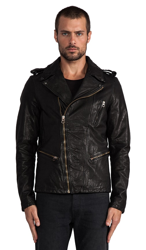 Leather Rocker Jacket