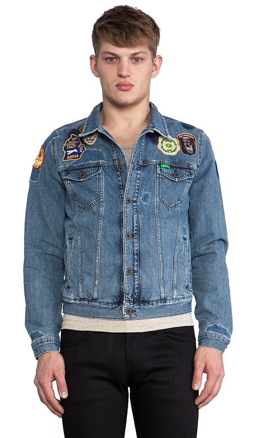 Denim Jacket w/ Patches