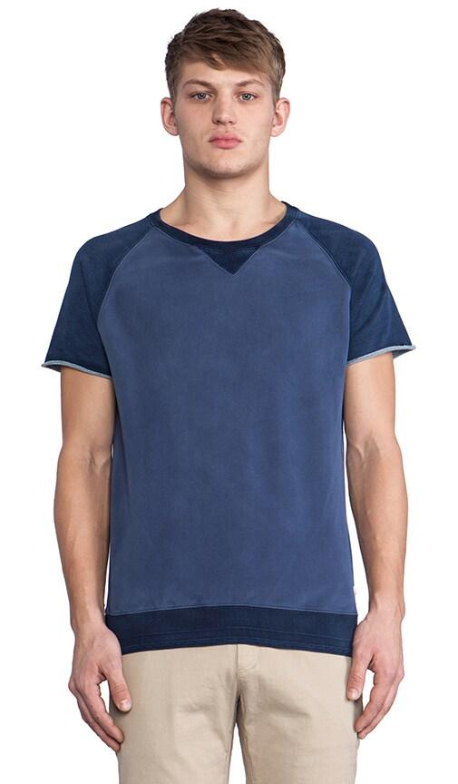 Short Sleeve Raglan Sweatshirt