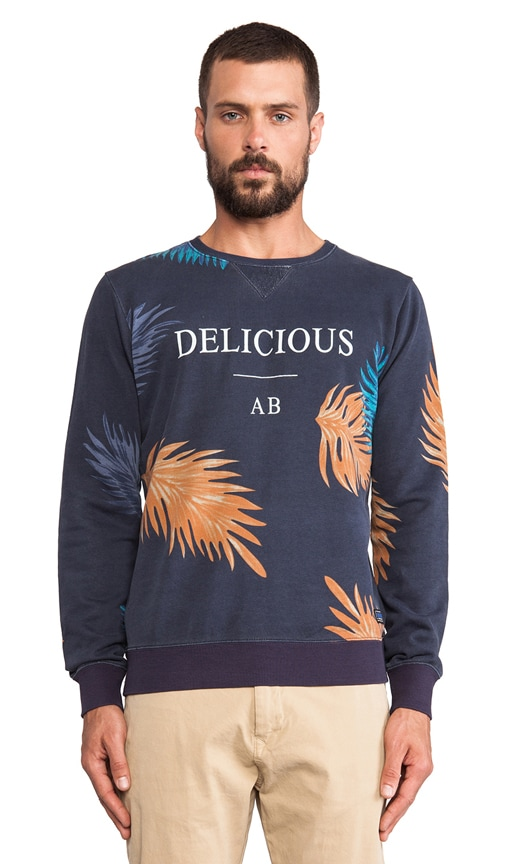 Allover Print Dandy Crew Neck Sweat