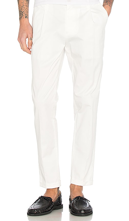 Scotch & Soda Formal Chino Pants in White