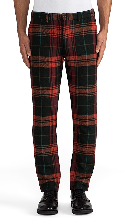 Plaid Churchill Wooly Pant