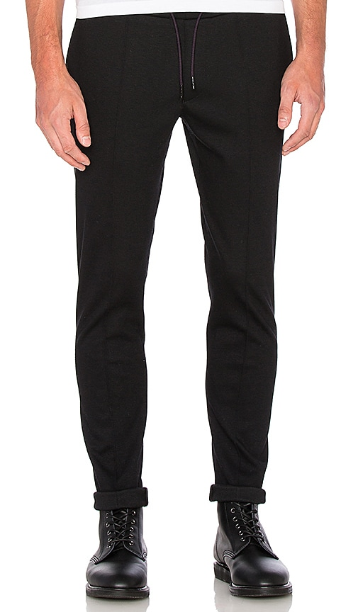 Scotch & Soda Knitted Classic Pant in Black