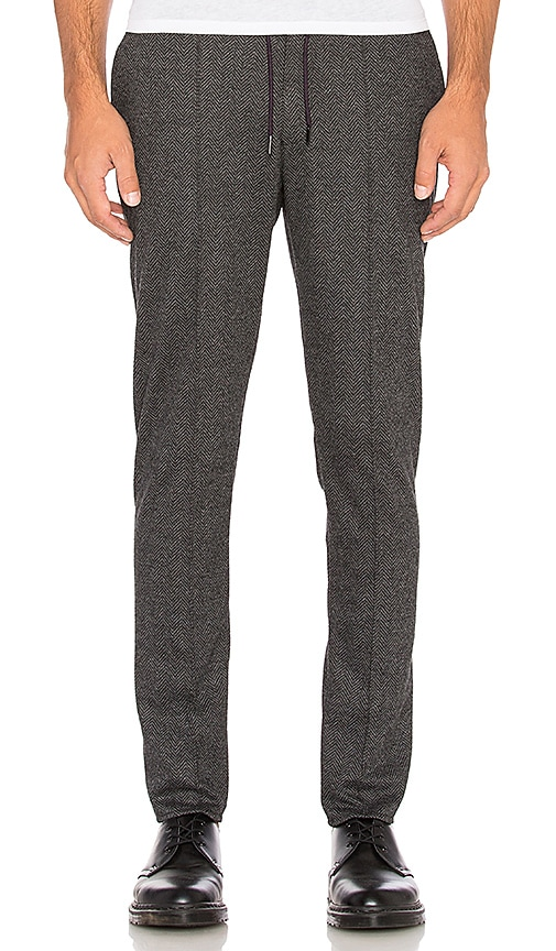 Scotch & Soda Knitted Classic Pant in Grey