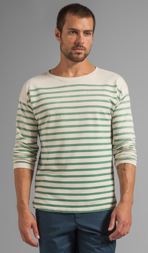 Striped L/S Sailor Shirt