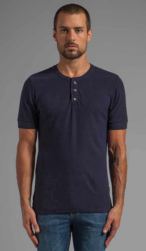 Short Sleeve Home Alone Henley