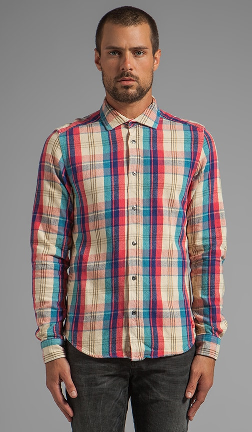 Long Sleeve Dress Flannel Shirt