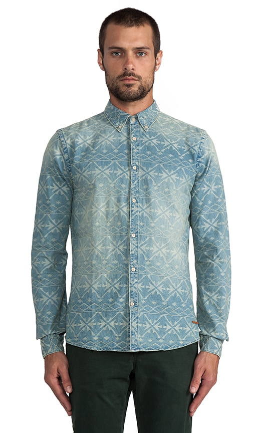 Fancy Ikat Shirt